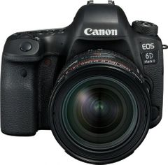 Canon EOS 6D Mark II 26.2MP DSLR Camera (24-70mm Lens)