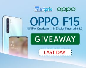 OPPO F15 Giveaway