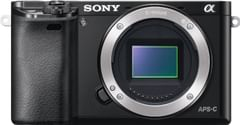 Sony ILCE-6000 Mirrorless Camera (Body Only)