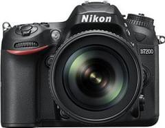 Nikon D7200 24.2 MP Digital SLR Camera (AF-S DX 18-200mm VR Lens)