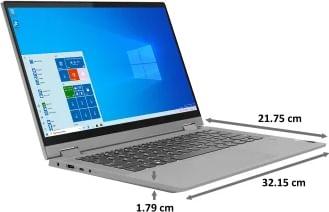 Lenovo Ideapad Flex 5 82HS0091IN Laptop (11th Gen Core i5/ 8GB/ 512GB SSD/ Win10 Home)