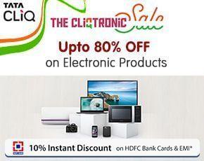TataCLiQ CLiQtronic Sale