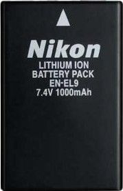 Nikon EN-EL9 Rechargeable Li-Ion Battery