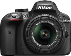 Nikon D3300 DSLR 24.2 MP Digital Camera (Body Only)