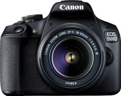 Canon EOS 1500D DSLR Camera (EF-S 18-55 IS II + 55-250 IS II)