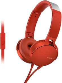 first look new images of suitable for men/women Sony MDR-XB550AP on Ear Headphone