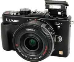 Panasonic Lumix DMC-GX1X 16MP Mirrorless Camera with 14-42mm Kit Lens (Black)