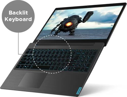 Lenovo L340-15IRH 81LK01QNIN Gaming Laptop (9th Gen Core i5/ 8GB/ 1TB HDD/ Win10 Home/ 3GB Graph)