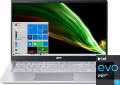 Acer Swift 3 SF314-511 NX.ABNSI.00B Laptop (11th Gen Core i5/ 8GB/ 512GB SSD/ Win10 Home)