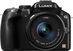 Panasonic Lumix DMC-G5W Mirrorless (14-42mm Lens)