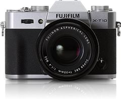 Fujifilm X-T10 Mirrorless Digital Camera Kit with XF18-55mm