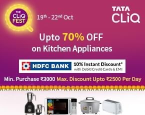 Tata Cliq Kitchen Appliances Sale