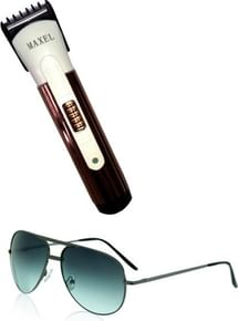ec688cfd90f Maxel Trimmer + Aviator Sunglasses Best Price in India 2019