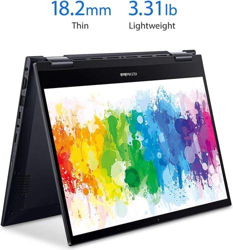Asus VivoBook Flip TM420UA-EC501TS Laptop (AMD Ryzen 5/ 8GB/ 512GB SSD/ Win10)