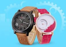 Men & Women Watches at Flat Rs. 299 with Great Combo Offers + Rs. 50 OFF on Prepaid Orders