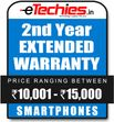 Etechies SmartPhone 1 Year Extended Basic Protection (For Device Worth Rs 10001 - 15000)