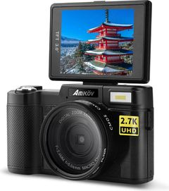 Amkov CD-RW 24MP Digital Camera