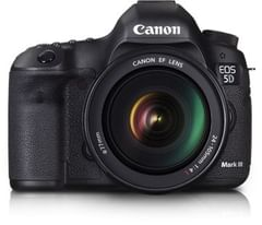 CANON EOS 5D MK III DSLRS CAMERA WITH 24-70 F/4 L IS USM LENS