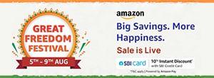 Amazon Great Freedom Sale
