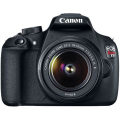 Canon EOS Rebel T5 DSLR Camera (18-55mm IS II +75-300mm)