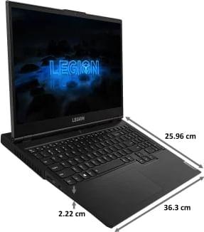 Lenovo Legion 5 15ARH05 82B500RDIN Gaming Laptop (AMD Ryzen 5/ 8GB/ 1TB 256GB SSD/ Win10 Home/ 4GB Graph)