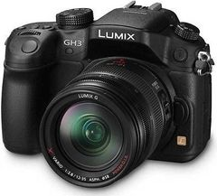 Panasonic Lumix DMC GH3A DSLR Camera With 12-35mm Lens