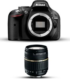 Nikon D5200 with Tamron 18-200mm Lens