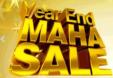 Homeshop18 Year End Mahasale : Huge Discount Across Various Categories