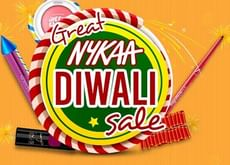 Great Nykaa Diwali Sale | Upto 40% OFF on Makeup, Herbal, Appliances and More