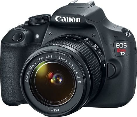 Canon Eos Rebel T5 Dslr Camera Ef S 18 55mm Is Ii 18 200mm Lens