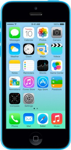Apple iPhone 5C (16GB) (Green, Blue, Yellow, Pink and White)