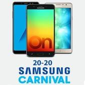 Upto 2000 OFF on Samsung Mobiles & Accessories + Free Scoop Speakers & Bag   20% Supercash via Mobikwik