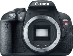 Canon EOS Rebel T5i 18MP DSLR Camera (EF-S 18-55mm STM + 55-250mm IS STM)