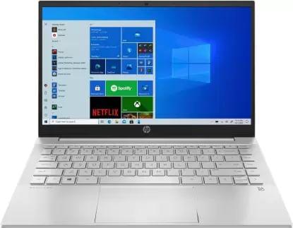 HP Pavilion 14-EC0007AX Laptop (Ryzen 7 5700U/ 16GB/ 512GB SSD/ Win10 Home/ 2GB Graph)
