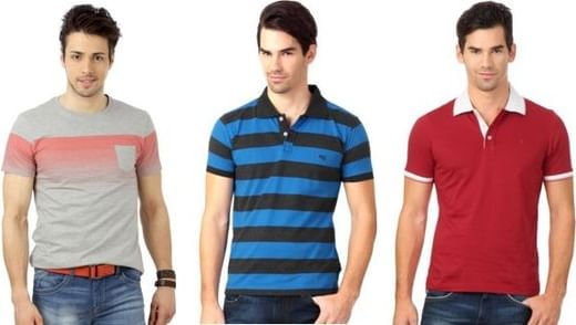 c6f145412fcae9 Upto 70% OFF on Men s T-Shirts   Polos