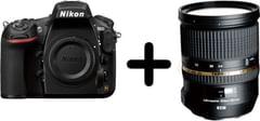 Nikon D810 DSLR Body Only+ Tamron A007 (SP 24-70MM) F/2.8 Di USD Camera Zoom Lense for Nikon DSLR, black