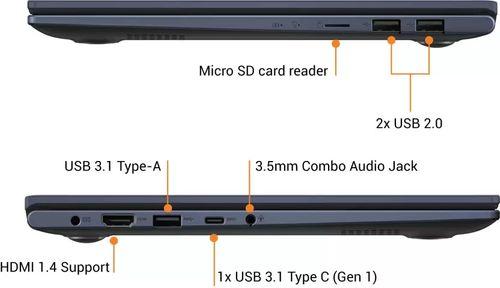 Asus VivoBook M413IA-EK582T Laptop (Ryzen 5/ 8GB/ 512GB SSD/ Win10 Home)