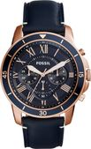 Fossil Chronograph Blue Dial Men's Watch