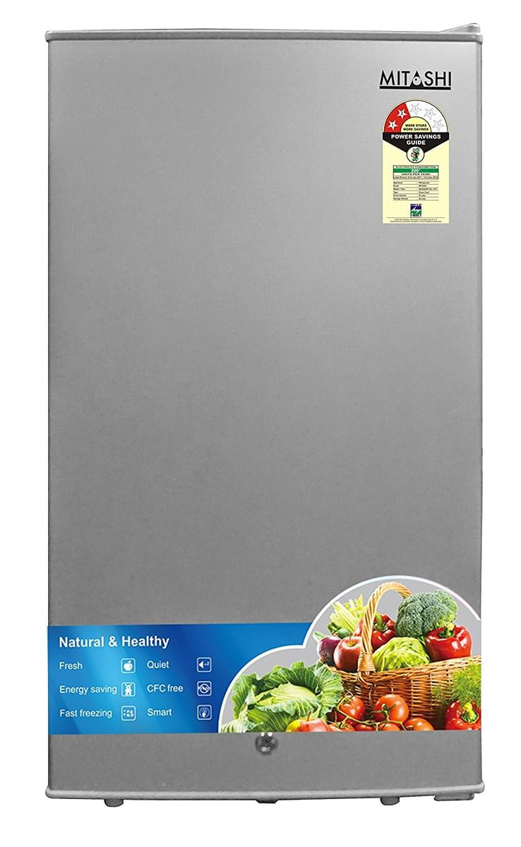 Mitashi MSD090RF100 87L 2 Star Single Door Refrigerator