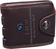 Unique Men's Pu Brown Bmw wallet