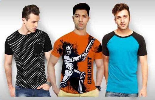 62c2ee61ada3da Men s T Shirts at Upto 70% OFF