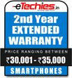 Etechies SmartPhone 1 Year Extended Basic Protection (For Device Worth Rs 30001 - 35000)