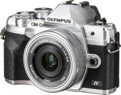 Olympus OM-D E-M10 Mark IV SLR Camera with ED 14-42mm F3.5-5.6 EZ and 40-15mm Lens Kit