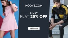 Flat 25% OFF on All Fashion Products for Men & Women