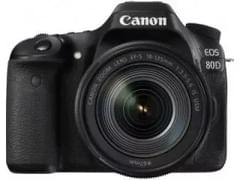 Canon EOS 80D 24.2 MP DSLR Camera (EF-S18-135 IS USM Lens)