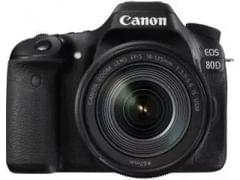 Canon EOS 80D DSLR Camera (EF-S18-135 IS USM Lens)