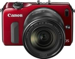 Canon EOS-M Mirrorless Camera (Black, Body with 18-55 mm Lens)