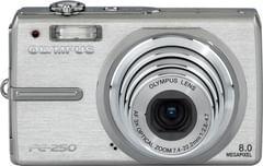 Olympus Stylus FE-250 8MP Digital Camera