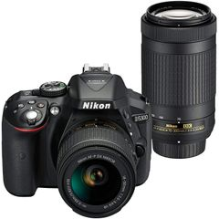 Nikon D5300 DSLR Camera (AF-P 18-55 & AF-P 70-300mm VR)