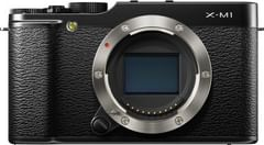 Fujifilm X-M1 Digital Camera (Black)